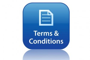 Read our terms and conditions